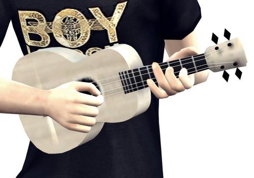 Ukulele instrument & poses by Lonelyboy at Happy Life Sims image 3226 Sims 4 Updates