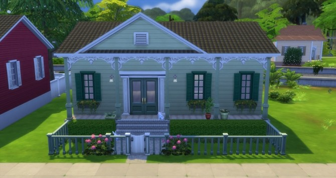 Fauborg Marigny houses by bubbajoe62 at Mod The Sims image 337 670x355 Sims 4 Updates