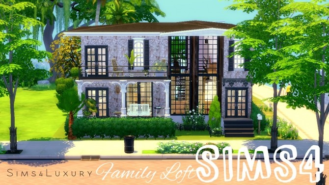 Family Loft at Sims4 Luxury image 3421 670x377 Sims 4 Updates