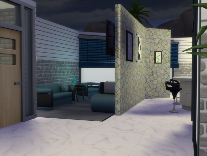 Sims 4 TechBricks house by busabus at Mod The Sims