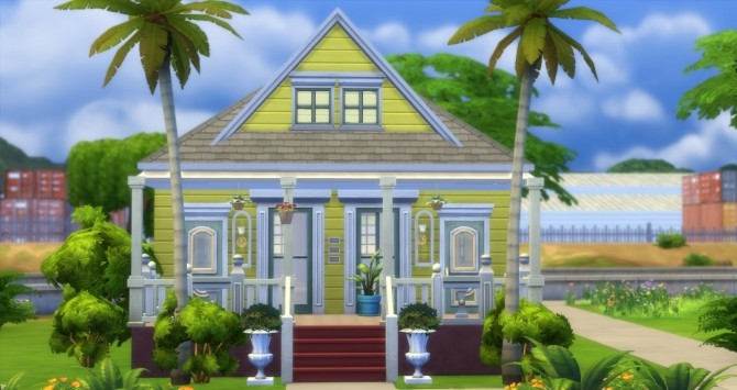 Fauborg Marigny houses by bubbajoe62 at Mod The Sims image 348 670x355 Sims 4 Updates
