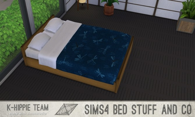 10 Beddings Shoji Serie volume 3 at K hippie image 3512 670x402 Sims 4 Updates