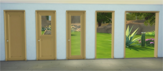 Bakery Doors Amp Arches At Veranka 187 Sims 4 Updates