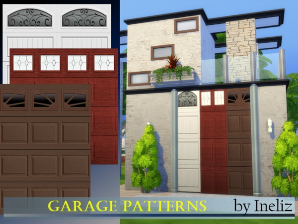 Garage Patterns by Ineliz at TSR image 352 Sims 4 Updates
