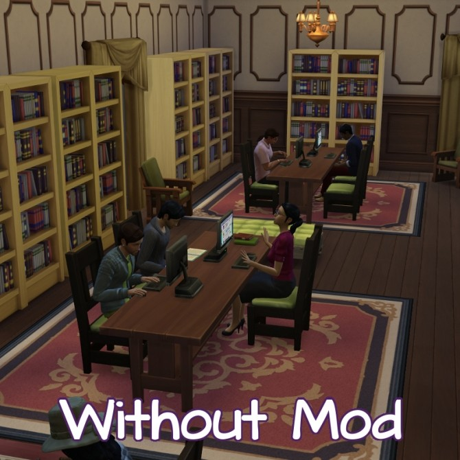 Sims 4 More Children/Teens at Library by scarletqueenkat at Mod The Sims