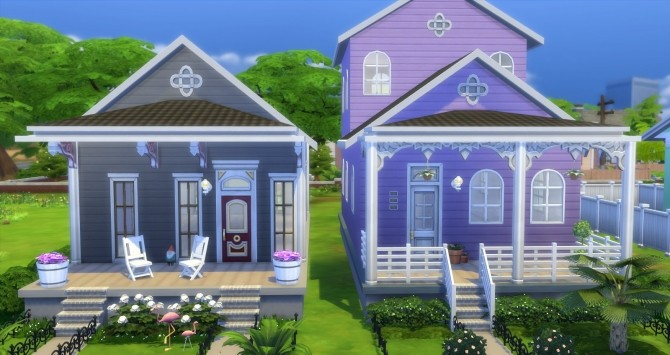 Fauborg Marigny houses by bubbajoe62 at Mod The Sims image 357 670x355 Sims 4 Updates