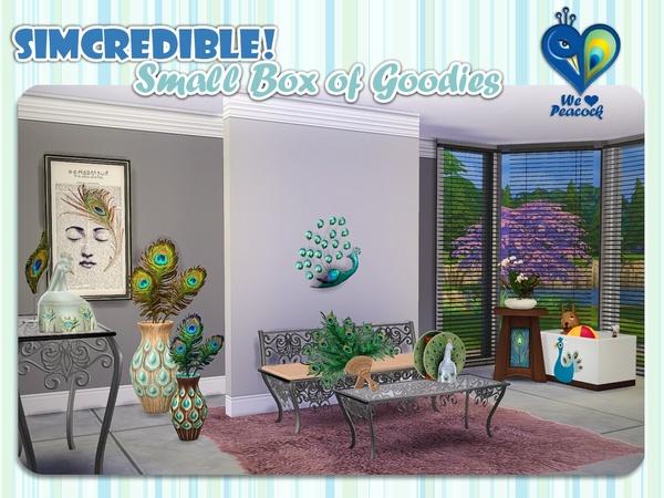 Sims 4 We love peacock box by SIMcredible! at TSR