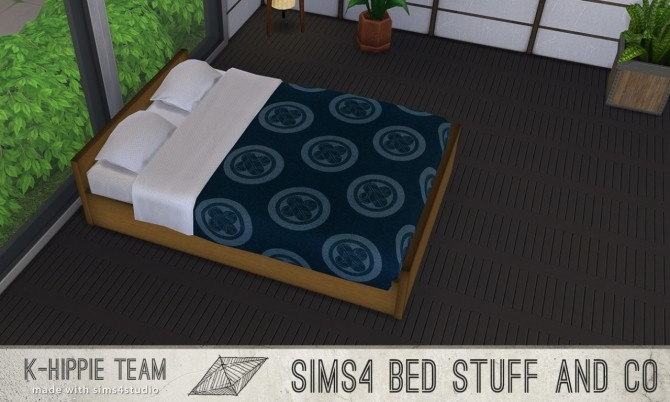 10 Beddings Shoji Serie volume 3 at K hippie image 3614 670x402 Sims 4 Updates