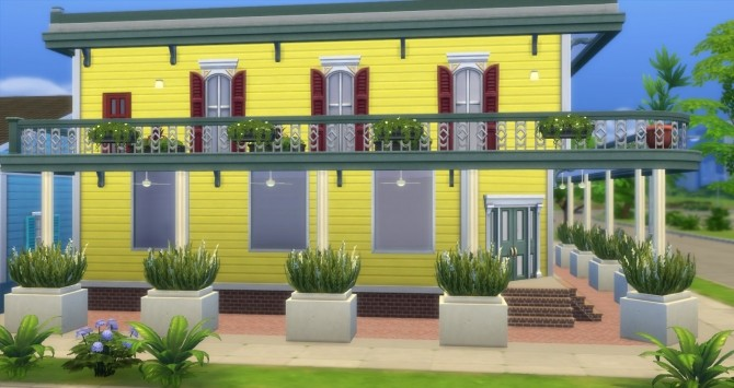 Fauborg Marigny houses by bubbajoe62 at Mod The Sims image 368 670x355 Sims 4 Updates