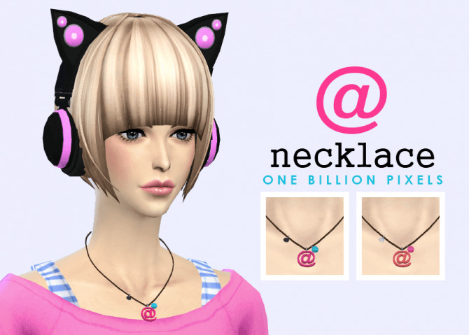 Sims 4 Necklace by NewOne at One Billion Pixels