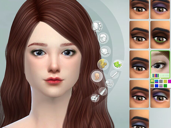 Eyeshadow 04 by S Club WM at TSR image 37 Sims 4 Updates