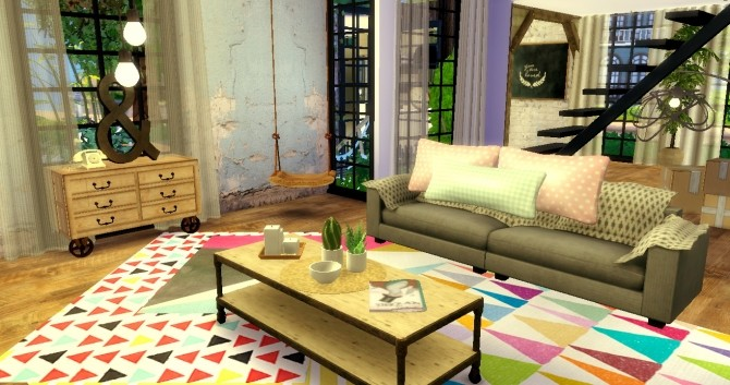 Family Loft at Sims4 Luxury image 3722 670x353 Sims 4 Updates