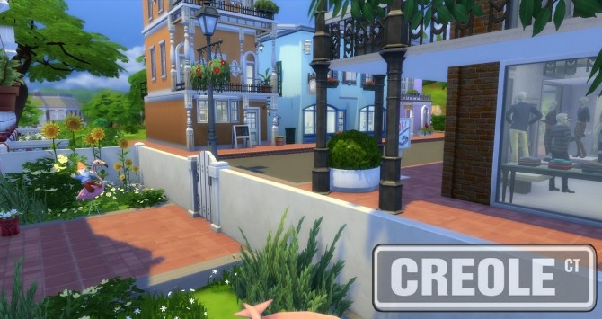 Creole Court Retail Plaza by bubbajoe62 at Mod The Sims image 38 670x355 Sims 4 Updates