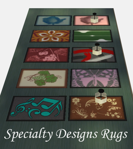 Sims 4 Specialty Designs Rugs by Simmiller at Mod The Sims