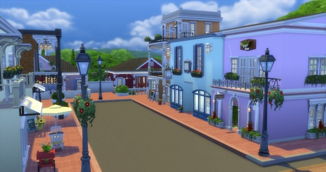 Creole Court Retail Plaza by bubbajoe62 at Mod The Sims image 39 670x355 Sims 4 Updates