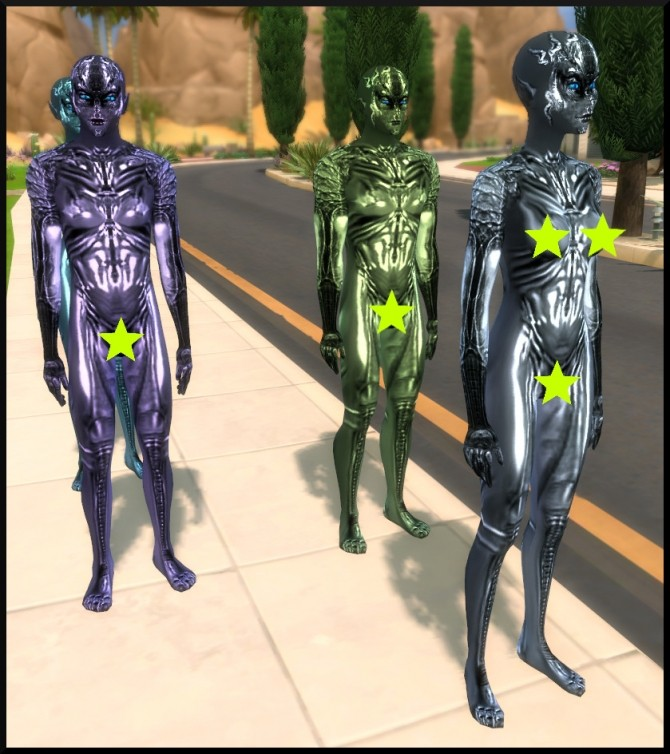 SPECIES Skin textures for Aliens by Tanja1986 at Mod The Sims image 3917 670x754 Sims 4 Updates