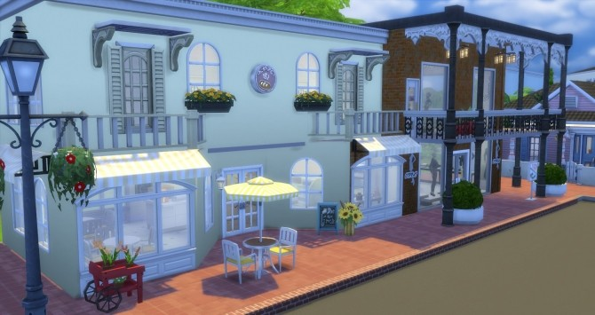 Creole Court Retail Plaza by bubbajoe62 at Mod The Sims image 40 670x355 Sims 4 Updates
