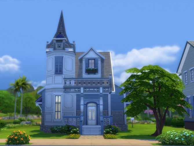15 Laurel Lane Blue Rose Victorian DV by Christine11778 at Mod The Sims image 42 670x504 Sims 4 Updates