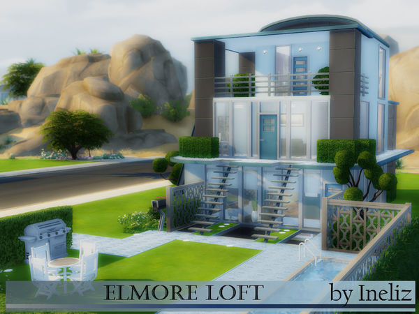 Elmore Loft By Ineliz At Tsr 187 Sims 4 Updates