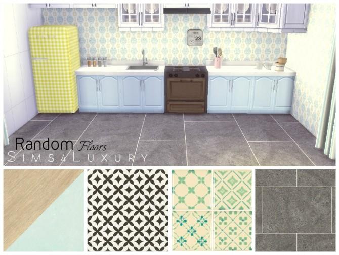Random floors set 3 at Sims4 Luxury image 4422 670x503 Sims 4 Updates