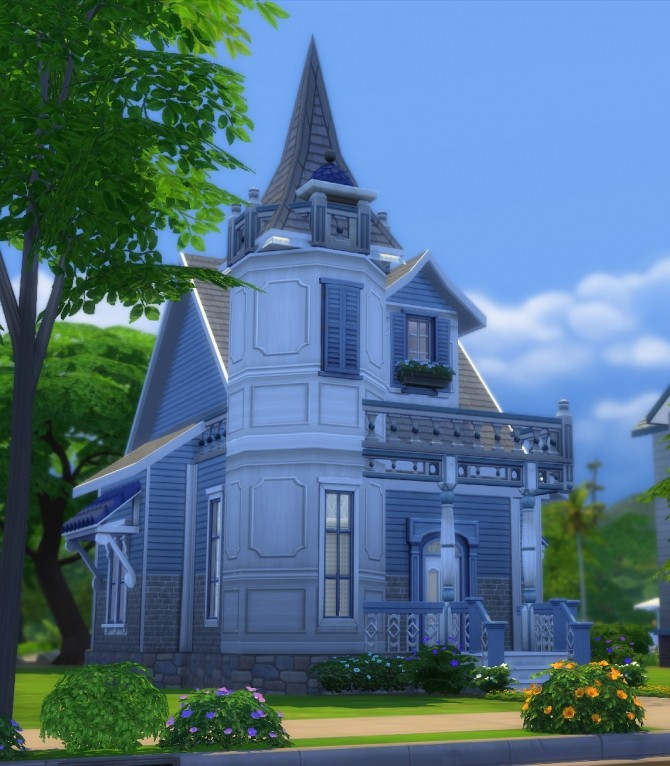 15 Laurel Lane Blue Rose Victorian DV by Christine11778 at Mod The Sims image 45 670x766 Sims 4 Updates