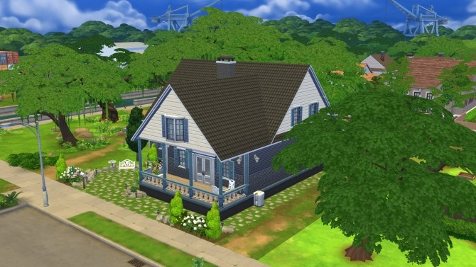 Sims 4 Daisy Hovel Remodeled by BaronessTrash at Mod The Sims