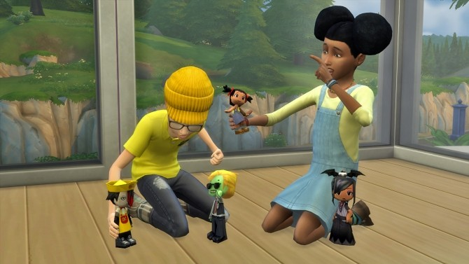 how to raise and lower objects in sims 4