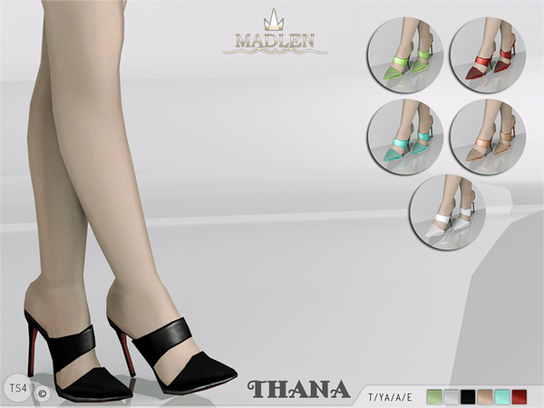 Sims 4 Madlen Thana Shoes by MJ95 at TSR