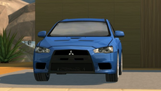 2010 Mitsubishi Lancer Evolution X at Understrech Imagination image 491 670x381 Sims 4 Updates