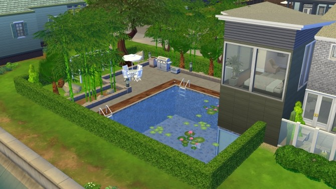 Sims 4 Eco Modern Home by BaronessTrash at Mod The Sims
