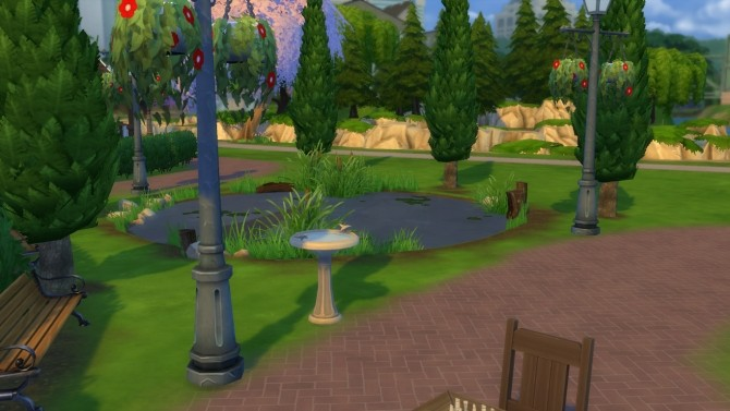 Sims 4 Twin Oracle Park by RayanStar at Mod The Sims