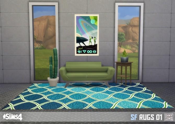 Sims 4 SF rugs 01 at Oh My Sims 4