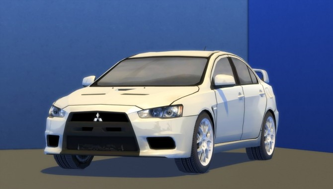 2010 Mitsubishi Lancer Evolution X at Understrech Imagination image 511 670x381 Sims 4 Updates