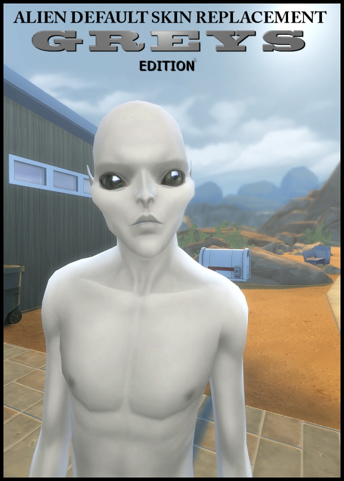 Grey Alien Skin Amp Eyes By Tanja1986 At Select A Sites