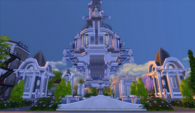 Sims 4 Bon Voyage steampunk zeppelin by Zagy at Mod The Sims