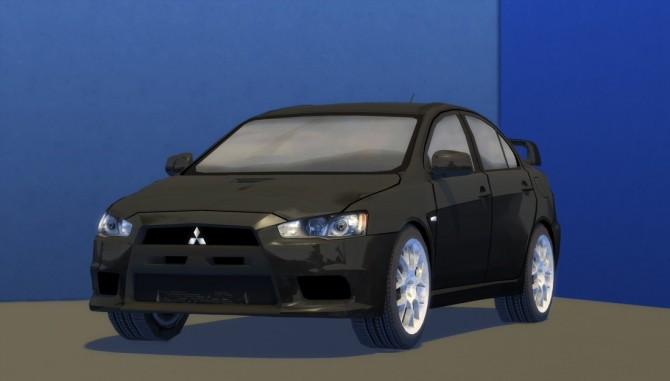 2010 Mitsubishi Lancer Evolution X at Understrech Imagination image 521 670x381 Sims 4 Updates