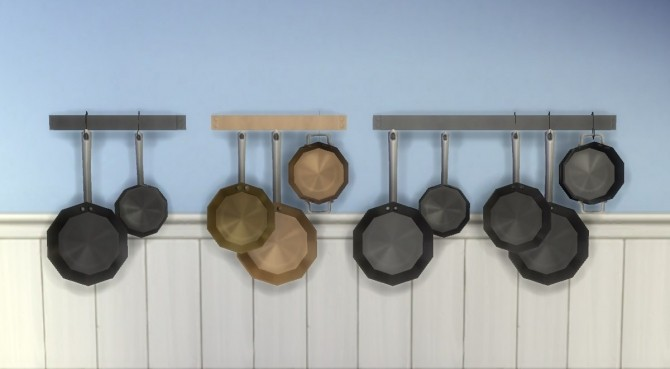 Sims 4 Single Tile RAW Cookware by plasticbox at Mod The Sims