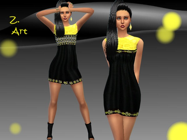 Yellow Move by Zuckerschnute20 at TSR image 5323 Sims 4 Updates