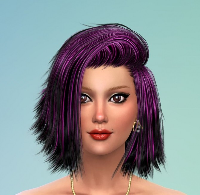 Sims 4 50 Recolors of Stealthic High Life Hair by Pinkstorm25 at Mod The Sims