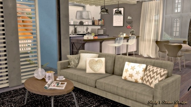 Sims 4 Artists House at Ruby's Home Design