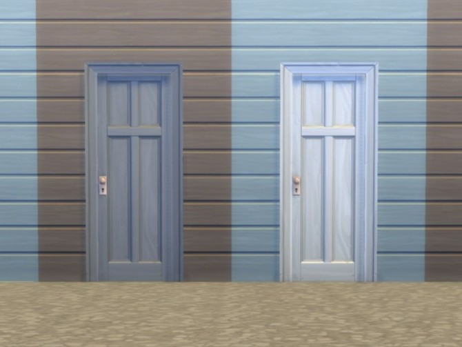 Two Tile Four Panel Door by plasticbox at Mod The Sims image 56 670x503 Sims 4 Updates