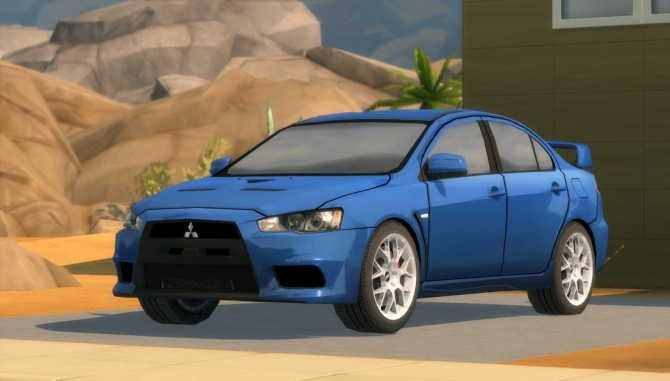2010 Mitsubishi Lancer Evolution X at Understrech Imagination image 571 670x381 Sims 4 Updates