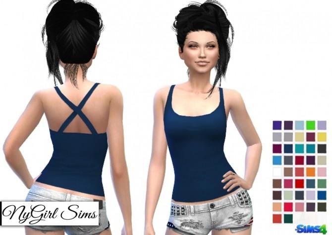 Cross Back Tank at NyGirl Sims image 5721 670x473 Sims 4 Updates