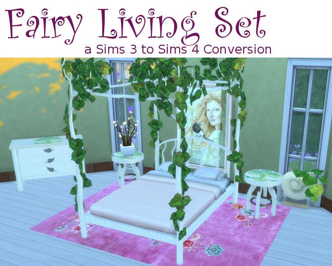 sims 3 cc furniture. Fairy Living Set At Leander Belgraves Image 5726 Sims 4 Updates 3 Cc Furniture I