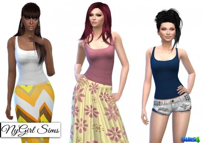 Cross Back Tank at NyGirl Sims image 5820 670x473 Sims 4 Updates
