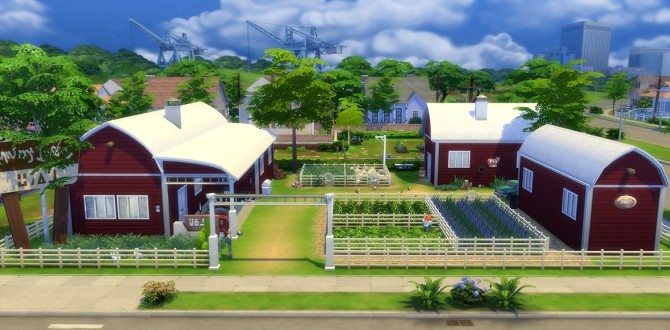Sims 4 Animal Farm by una at Mod The Sims