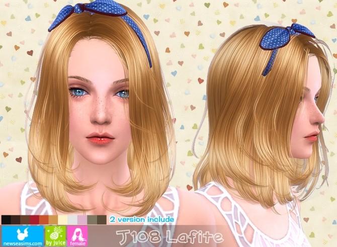 Sims 4 J108 Lafite hair (Pay) at Newsea Sims 4