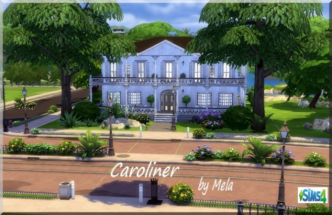 Sims 4 Caroliner villa by melaschroeder at All 4 Sims