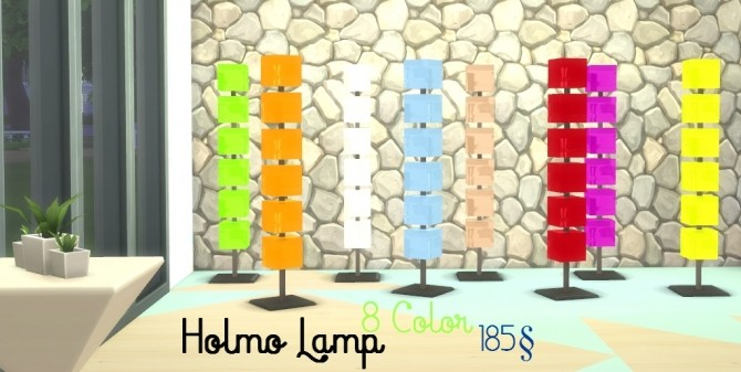 Floor Lamp Set by MissPepe92 at The Sims Lover image 613 670x337 Sims 4 Updates