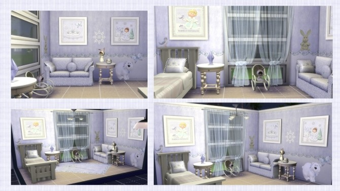 SNOW PRINCESS deco set at Alelore Sims Blog image 621 670x377 Sims 4 Updates